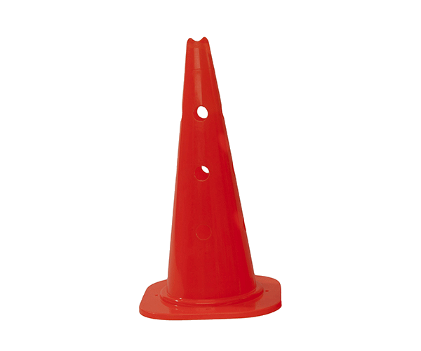 18 inch marker cone with holes