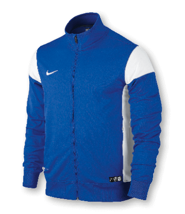 Academy 14 Sideline Knit Jacket Blue