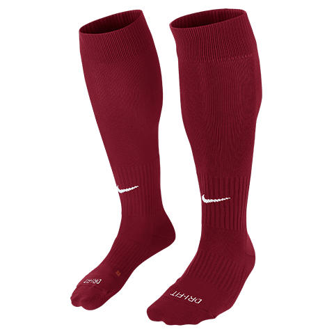 North Wellington Classic II Cushion OTC Sock Maroon