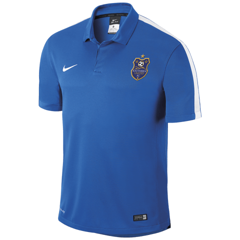 Southern United Squad 15 Polo Royal Blue