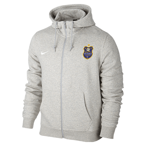 Southern United Team Club FZ Hoodie Grey