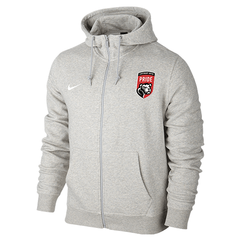 Canterbury United Pride Team Club FZ Hoodie Grey