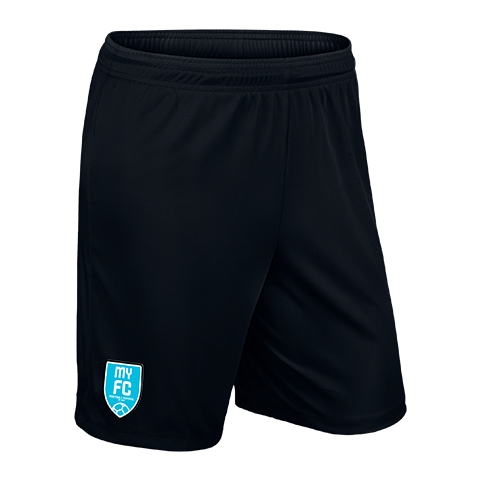 Waimakariri United Park II Knit Short Black