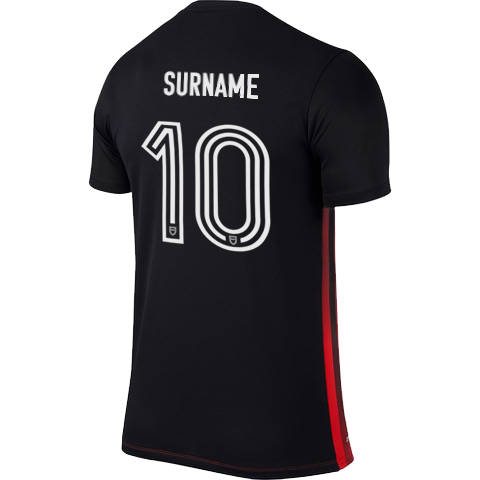 Canterbury United Supporters Jersey Back