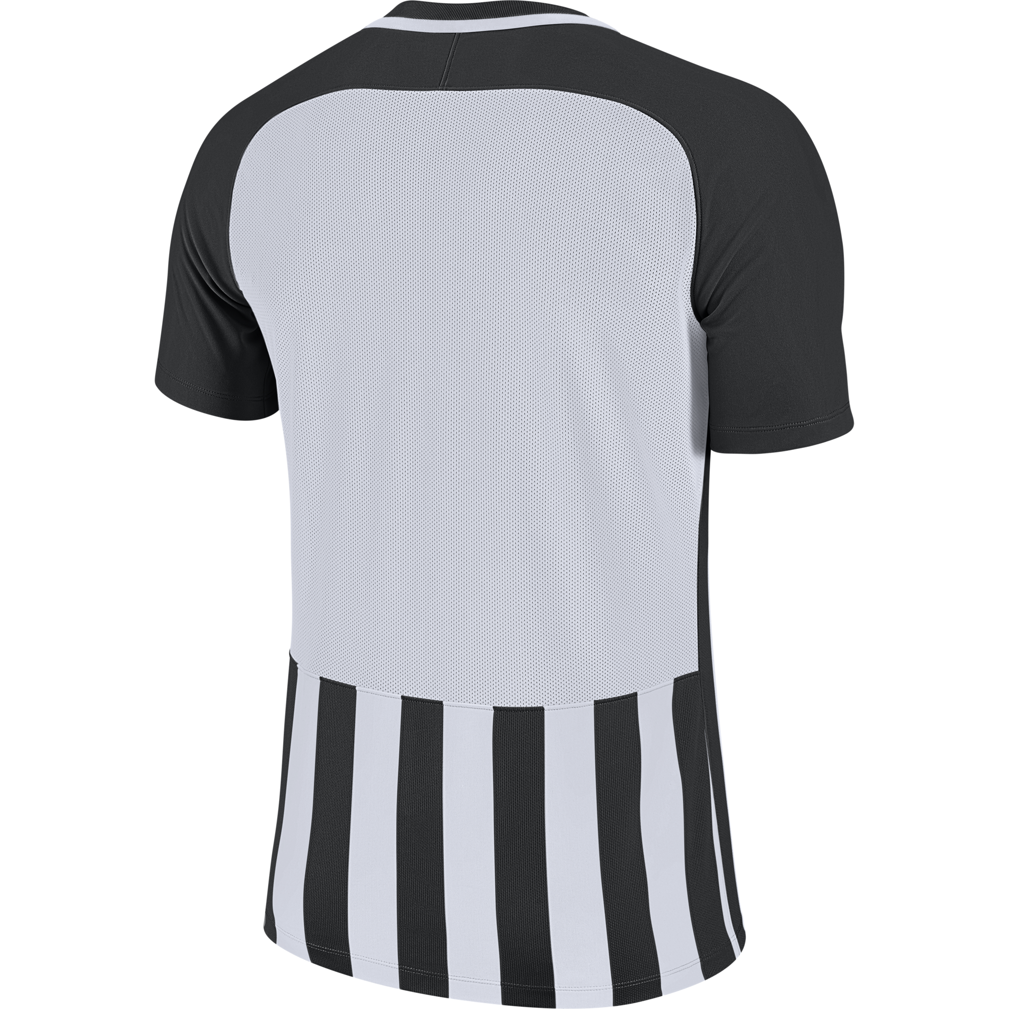 Striped-Division-Jersey-Black/White-Back