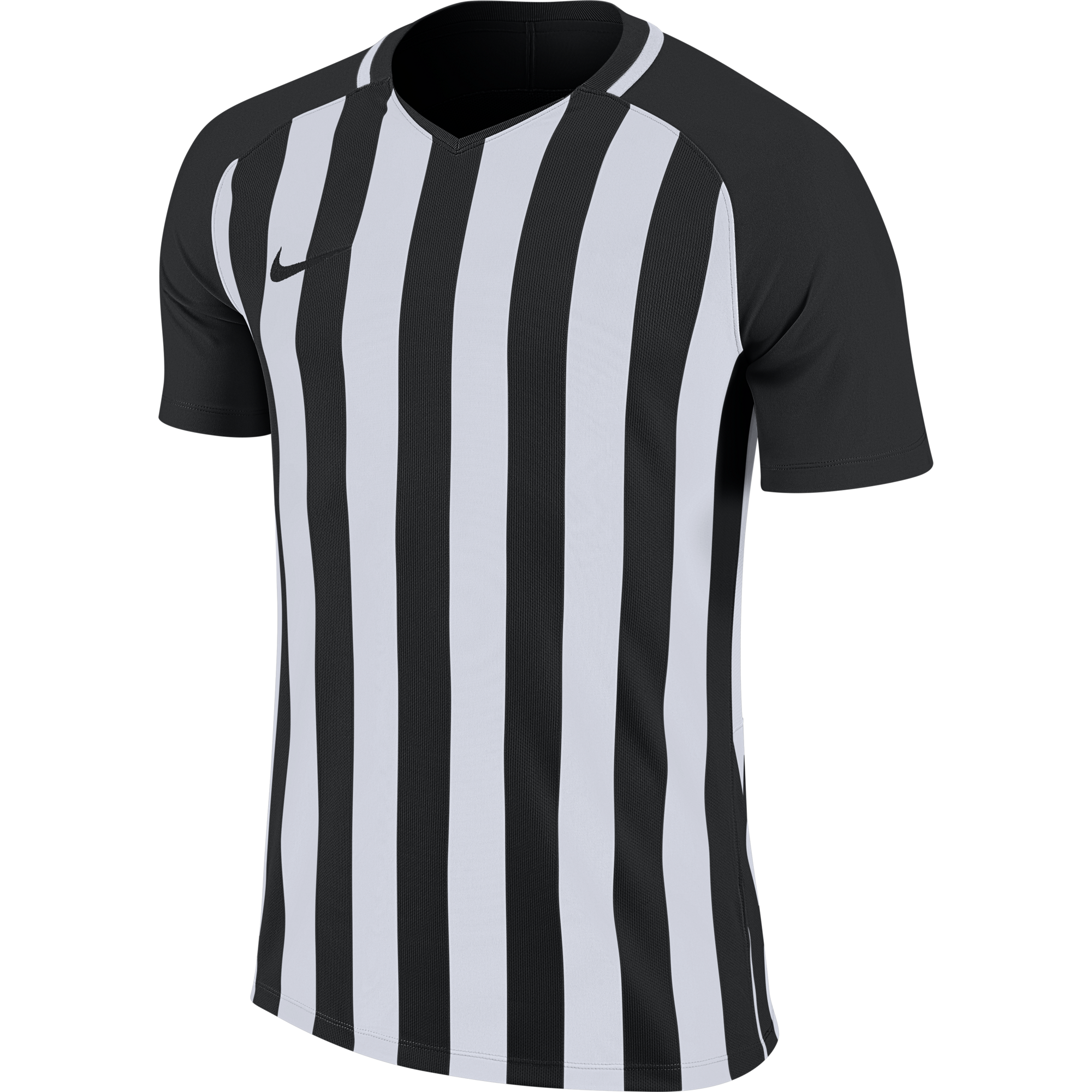 Striped-Division-Jersey-Black/White