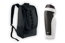 Product Bundle Backpack and Bottle Pack