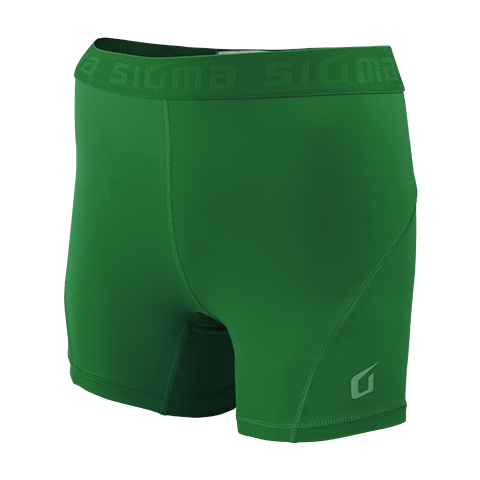 Sigma Compression Shorts GREEN WOMEN