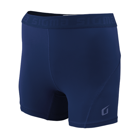 Sigma Compression Shorts NAVY WOMEN