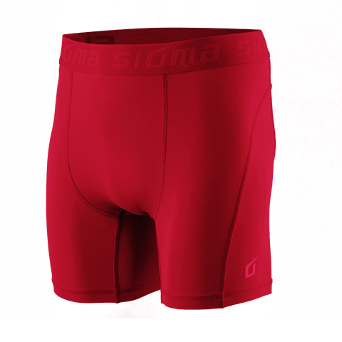 Sigma Compression Shorts RED