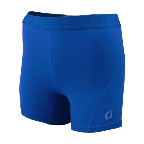 Sigma Compression Shorts BLUE WOMEN
