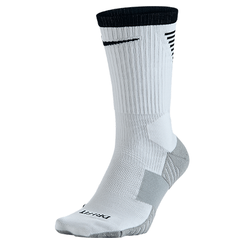 Nike Squad Crew Football Sock White